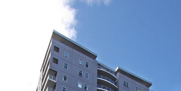 Victopia apartments in Auckland's CBD. Photo/Geoff Dale
