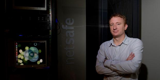 NetSafe Executive Director Martin Cocker. New Zealand Herald Photograph by Sarah Ivey.