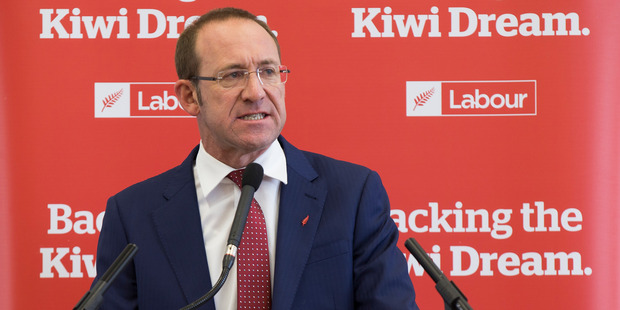 Labour Party Leader Andrew Little. Photo /  Nick Reed