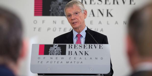 Loading Reserve Bank Governor Graeme Wheeler. Photo / Mark Mitchell.