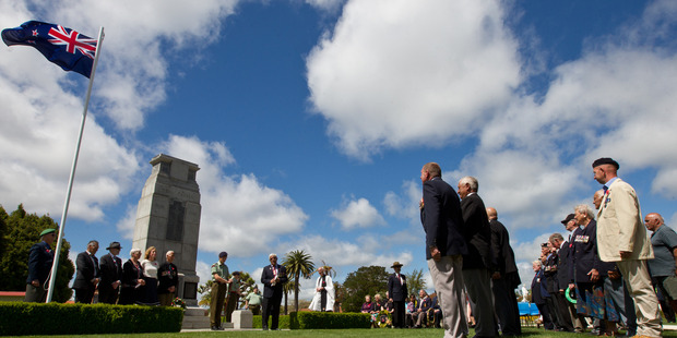 The end of World War I will be commemorated in Rotorua tomorrow at the Cenotaph in the Government Gardens.