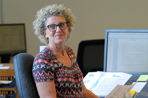 Priority One's Annie Hill says job opportunities are increasing in Tauranga. Photo/John Borren
