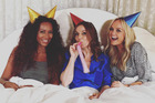 Spice Girls reunion 20 years on: Mel B (Scary Spice), Gerri Horner (Ginger Spice) and Emma Lee Bunton (Baby Spice). Photo / Emma Lee Bunton Instagram