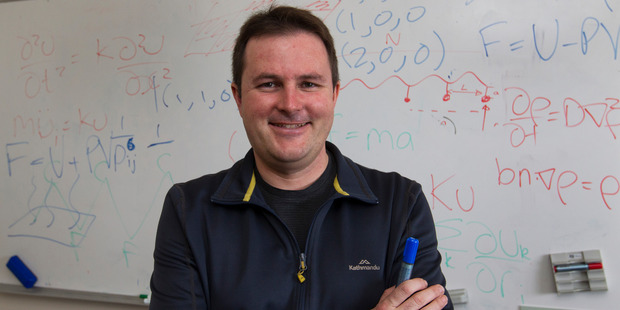 Auckland University physicist and science commentator Professor Shaun Hendy welcomes Dawkins' suggestion. Photo / File