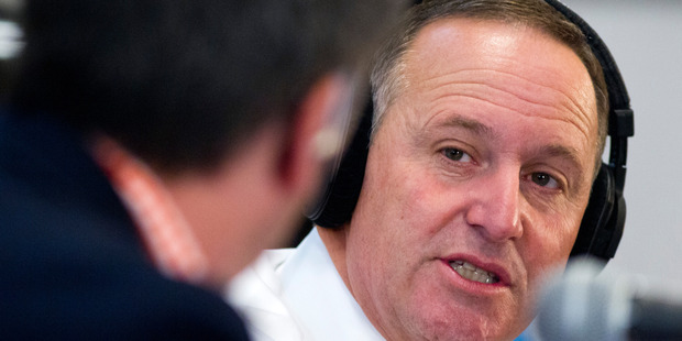 Prime Minister John Key has talked down Gareth Morgan's chances of making it to Parliament. New Zealand Herald Photograph by Jason Oxenham.