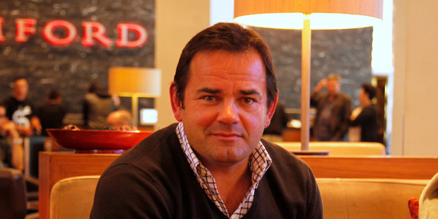 Will Carling - defending the All Blacks. Photo / Amos Chapple.