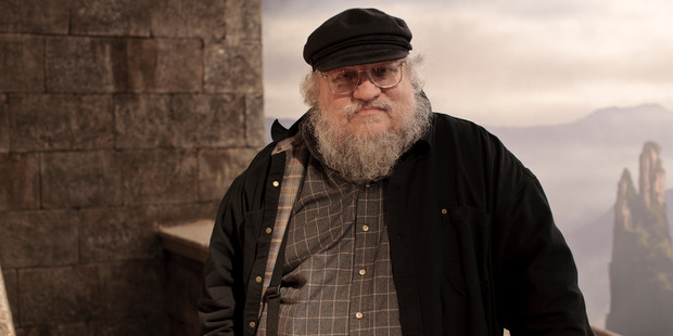 Game Of Thrones author George RR Martin. Photo / Supplied