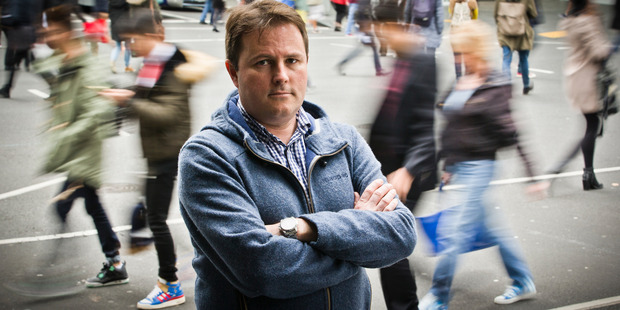 Innovation commentator and Auckland University physicist Professor Shaun Hendy wants to see more academics and policymakers looking forward. Photo / File