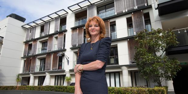 Sue Simons won the Property Council's top award. Photo/Brett Phibbs