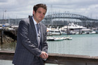 West Auckland real estate agent and auctioneer Aaron Drever. File photo / Brett Phibbs