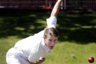 After some good form in Premier 1 club cricket, Collegiate captain Angus Dinwiddie will get a baptism of fire against Taranaki at Pukekura Park today.