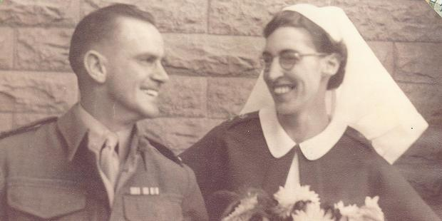 Betty met Sergeant William James Wakely during the war.They  married in Cairo on November 22, 1945, and returned  home in 1946.