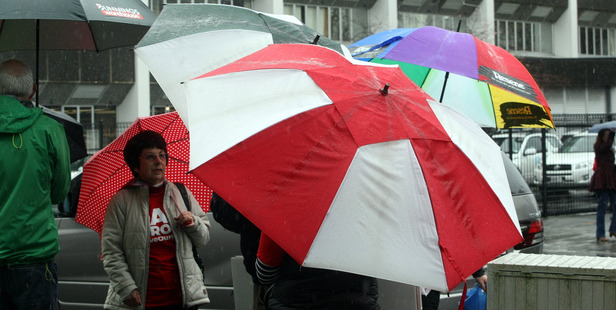 Wet and windy weather will continue this week. Photo / Paul Taylor /