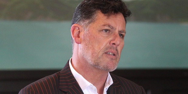 DIFFERING VALUES: Hawke's Bay Chamber of Commerce CEO Wayne Walford has ruled out standing for the National Party again at next year's general election. PHOTO/DUNCAN BROWN