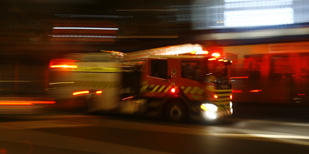 Emergency services were called to the scene of a house fire in Napier. Photo / File