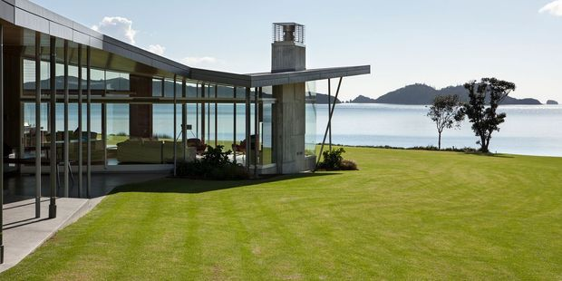 Fold House, in the Bay of Islands, won a major architectural award last night.