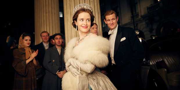 The Crown, which stars Claire Foy and Matt Smith as Elizabeth and Philip, is spectacular, with richly textured set design and lavish costumes.