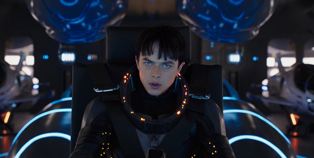 Dane DeHaan in Valerian And The City Of A Thousand Planets.