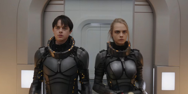Dane DeHaan and Cara Delevingne in Valerian And The City Of A Thousand Planets.