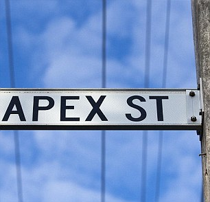 The gang take their name from Apex St.