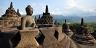 A giant stupa at Borobudur, Java. Photo / 123RF
