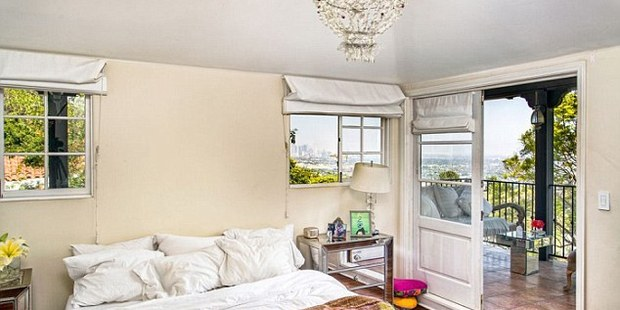 The master bedroom as a balcony overlooking the city. Photo / Coldwell Banker