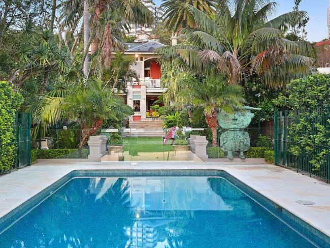 The waterfront masterpiece has been home to Rupert Murdoch and Russell Crowe. Picture: Christie's International Real Estate