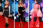 Anne-Marie, Charlotte Crobsy and Charli XCX were some of the best and worst dressed at MTV's EMAs awards. Photos / Getty Images, AP