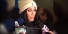 Watch: Watch: Cher weighs in on Donald Trump