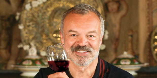 Graham Norton's rosé and shiraz won medals at the Sydney International Wine Competition. Photo / Getty Images