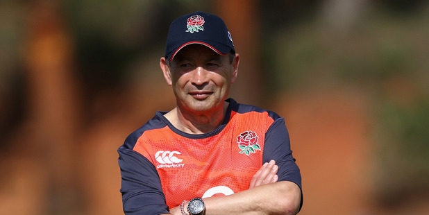 England coach Eddie Jones. Photo /Getty
