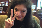 Lorde. Photo / Instagram