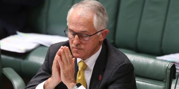 Malcolm Turnbull on Wednesday. Photo / News Corp Australia