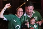 Irish rugby fans gathered at the Doolan Brothers pub in Newmarket to see Ireland finally claim a win against the All Blacks