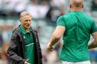 Joe Schmidt - making history wiht Ireland. Photo / Photopress Dan Sheridan