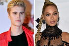 Justin Bieber is tied with Beyonce for the most nominations at the MTV EMA European music awards. Photo / AP