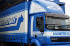 Mainfreight shares last traded at $18.62 and have gained 21 per cent this year. Photo / File
