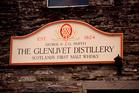 The Glenlivet Distiller. Photo / Getty Images