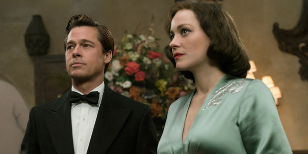 Brad Pitt stars as an intelligence officer who encounters a French Resistance fighter starred by Marion Cotillard in the movie Allied.
