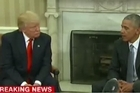 Source: CNN. President-elect Trump has met President Obama at the White House.
