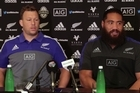 Wyatt Crockett and Charlie Faumuina discuss the mood in the sheds after the loss to Ireland