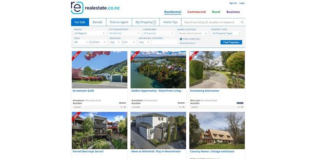 Loading The American elections are thought to be driving a big rise in real estate listing viewings.