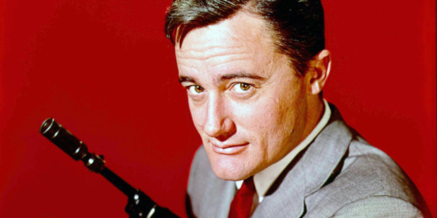 American actor Robert Vaughn as Napoleon Solo in 'The Man from U.N.C.L.E.' television series, circa 1966. Photo /Getty Images