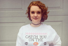 Shannon Purser has opened up about self harming on Twitter. Photo / Instagram