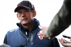 Wayne Bennett has had a difficult time since taking over as England coach. Photo / photosport.co.nz