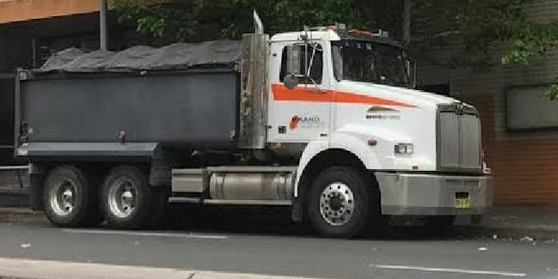 The truck driver was seen crying at the scene of the accident. Photo / News Corp