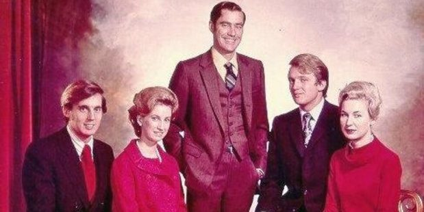 The Trump siblings. Robert (left), Elizabeth, Fred Jr, Donald and Maryanne. Fred Jr died in 1981. Photo / Donald Trump Campaign