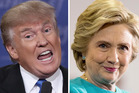 Donald Trump is renowned for being wildly inconsistent, but is Hillary Clinton any better? Photos / AP