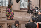 Actress Alfre Woodard on the set of Marvel's