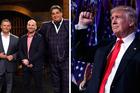 TVNZ showed Masterchef rather than Trump's shock win last night. Photos / supplied, AP